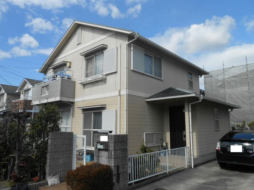 外壁・屋根塗装 S様 名古屋市緑区