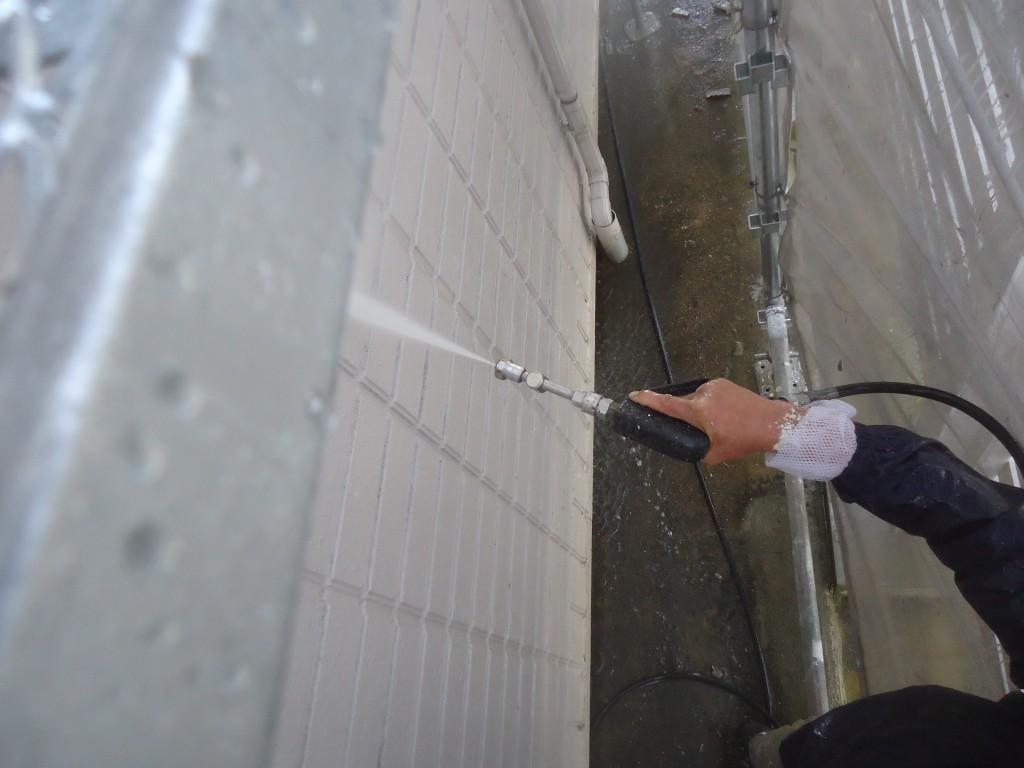 ダイワハウスさんの3階建て建物を無機UV塗料で外壁塗装 愛知県 岡崎市