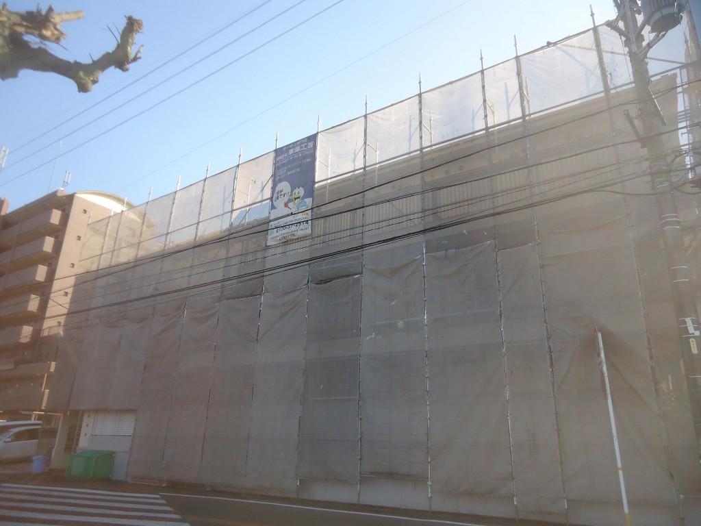 アパート・マンションの外壁塗り替えと屋根塗装 名古屋市天白区 コーポR