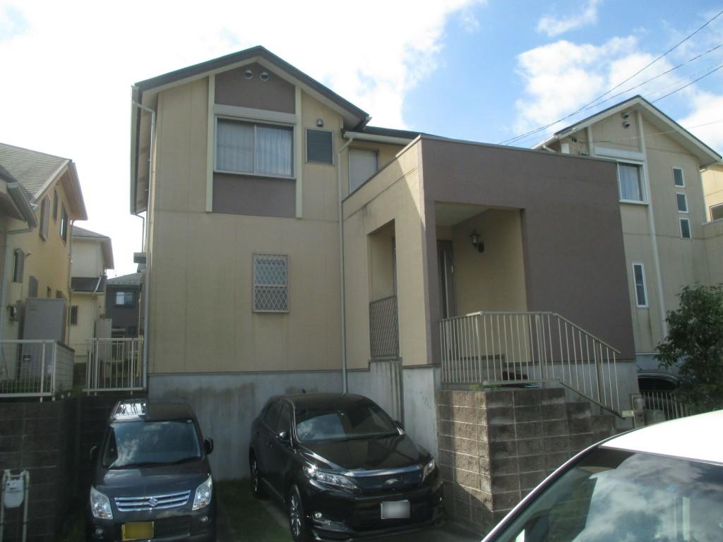 無機UV塗料で外壁と屋根をリフレッシュ 名古屋市天白区