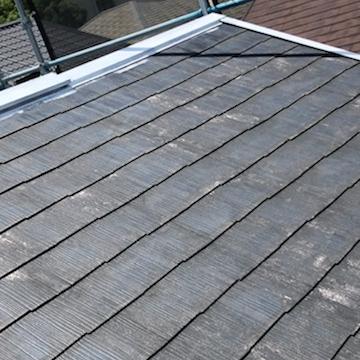 アイボリーで爽やかに外壁塗り替え、屋根塗装 日進市
