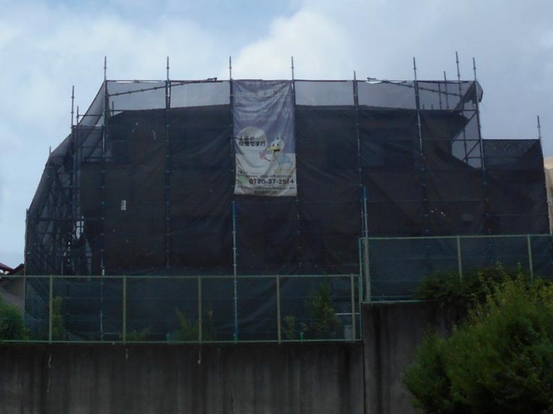 退色劣化が進んだカラーベスト屋根が無機UV塗料で見違える! 名古屋市天白区
