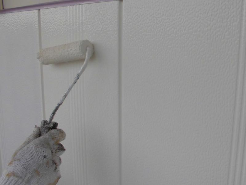 ひび割れへの漏れ水が心配な外壁にアステックEC-5000PCM塗装 名古屋市守山