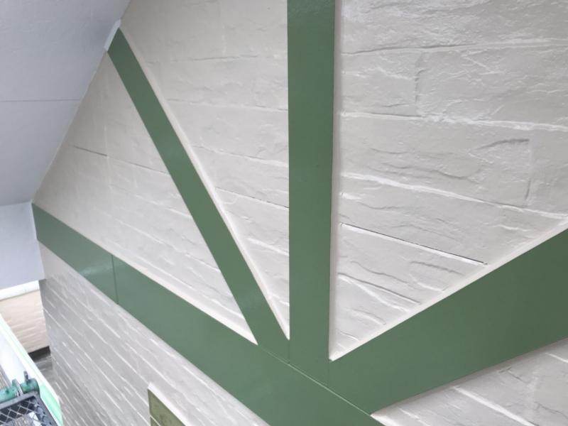 幕板もきれいに塗り替え、新築時の艶が戻ってきました! 東海市