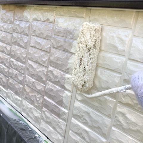 トヨタホームさんの住宅を新築時のイメージを残したまま外壁塗装 東海市