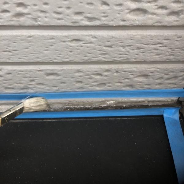 パナホームさんの戸建てツートンカラーに外壁塗装 名古屋市西区