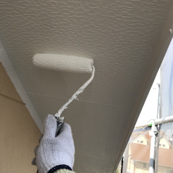 意匠性の高い外壁にWB多彩仕上げ工法+光触媒でおしゃれに塗り替え 豊田市