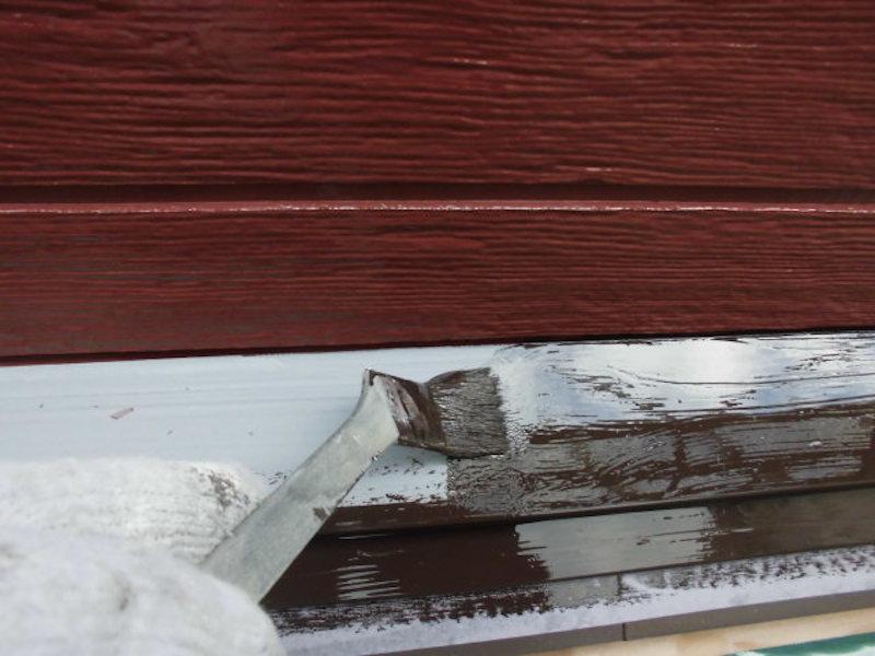 外壁の浮き補修をし、WBアート多彩工法で外壁塗装 名古屋市南区