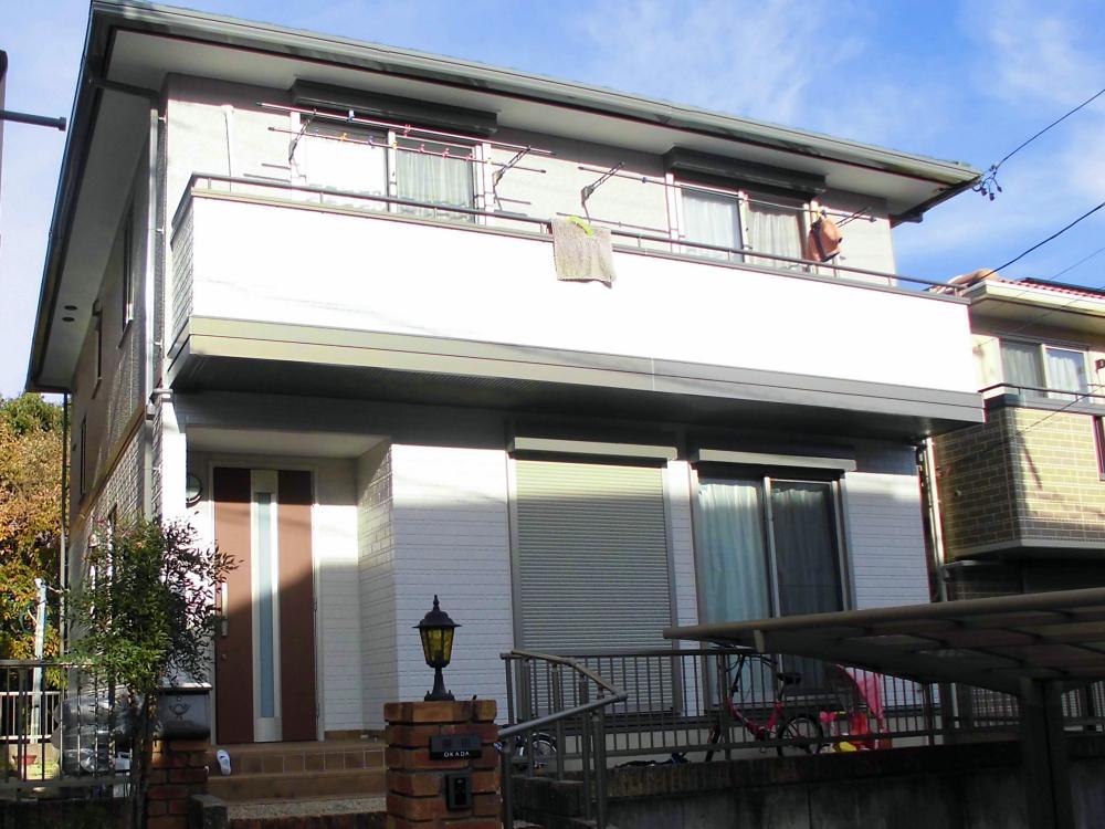 ダイワハウスさんの外壁を無機UV塗料で塗り替え 日進市