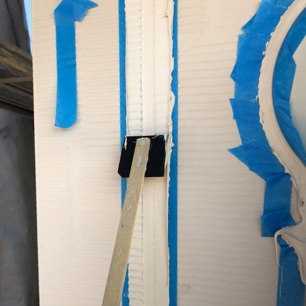 劣化したシーリングをオートンイクシードで打ち替えて外壁塗装 名古屋市緑区