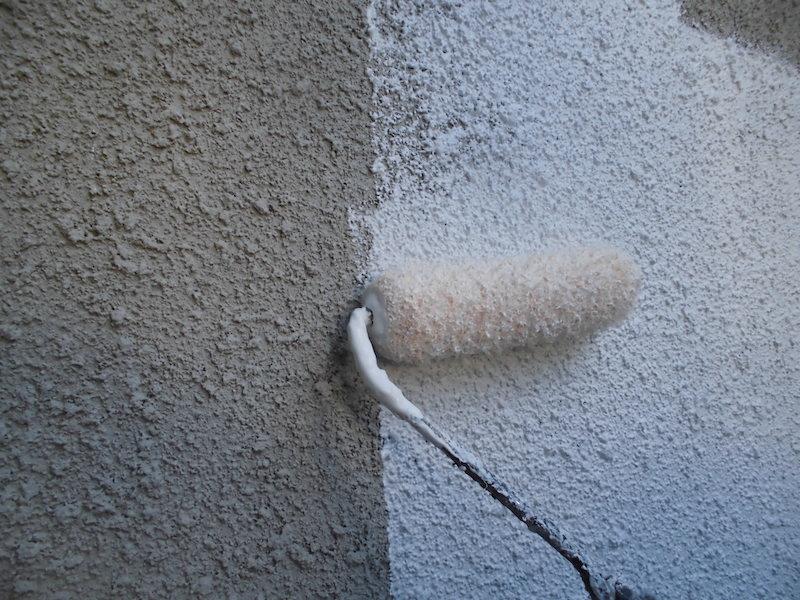 無機UVで外壁・屋根塗装。アイボリーで温かみのある仕上がり 名古屋市天白区