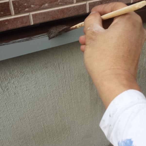 意匠性重視のクリヤー塗装。イクシードでシーリング打ち替え 名古屋市千種区