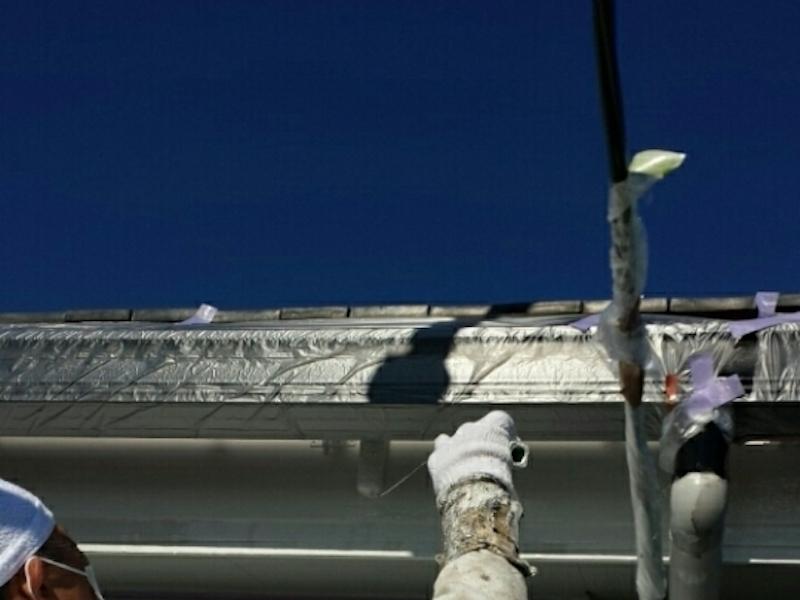 タテイルアクアのつや消しタイプでシックに塗り替え 刈谷市