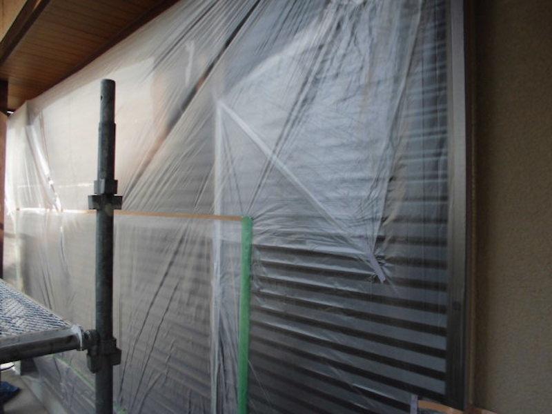 超耐久なフッ素樹脂塗料のボンフロンライトで外壁塗装 名古屋市緑区