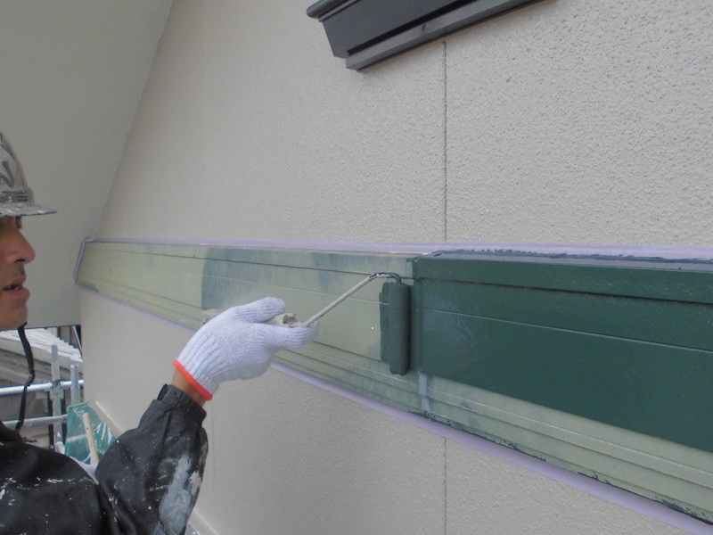 汚れにくく紫外線に強い無機UV塗料で塗り替え 常滑市