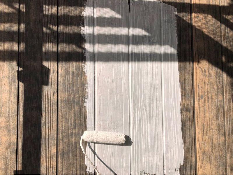 白っぽくなった木目のサイディングが生まれ変わりました! 名古屋市名東区