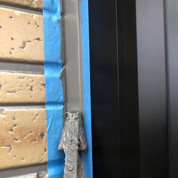 デザイン性の高いサイディングをクリヤー施工 名古屋市千種区