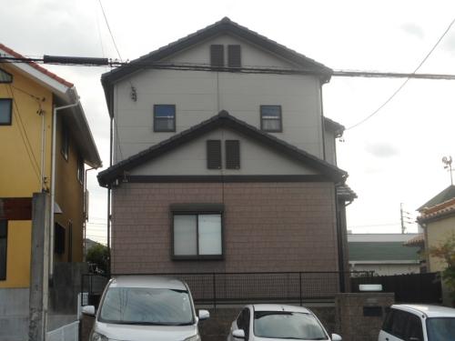 サイディングのデザイン性を重視した多彩模様仕上げ 名古屋市名東区