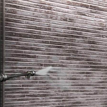 グレーとホワイトのツートンカラーで立体的でおしゃれな仕上がり 名古屋市名東区