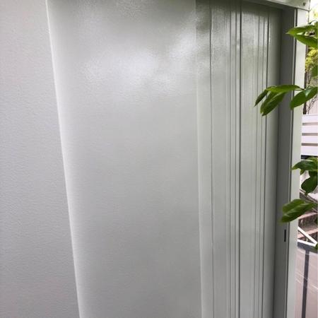 汚れにくい無機+光触媒フッ素コート仕様でアイボリーに外壁塗り替え 瀬戸市