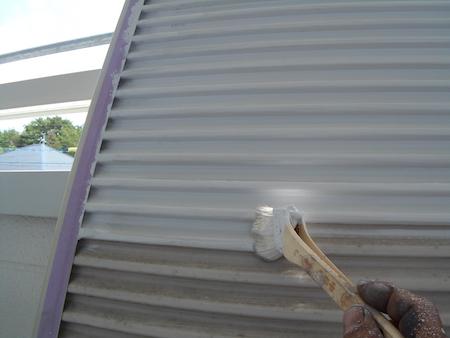 ファインパーフェクトトップ仕様でツートンカラーに塗り替え 名古屋市緑区