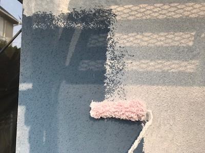 ジョリパットの風合いを再現する塗料アートフレッシュで外壁塗り替え 日進市