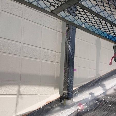 セキスイハイムさんの建物を超高耐久な無機塗料タテイルで塗り替え 名古屋市瑞穂区