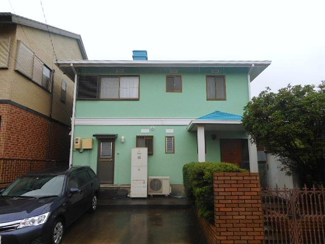 超高耐久な無機塗料プランで、ミントグリーンにカラーチェンジ 名古屋市中川区