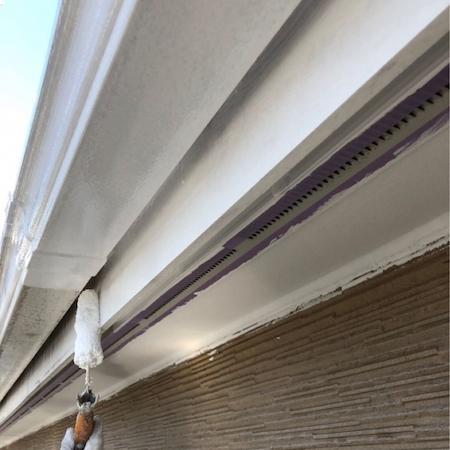 ベージュと白のコントラストがおしゃれな外壁塗り替え 名古屋市天白区