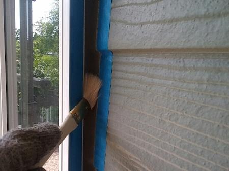 洋風住宅の外壁の色を替え、耐候性の高い塗料で屋根・外壁塗装 名古屋市天白区