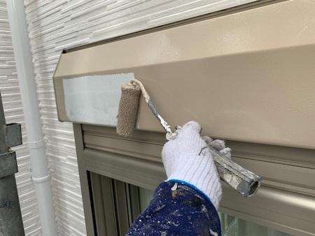 ダイワハウスさんの建物を最上級の遮熱シリコン塗料シリコンREVO1000で外壁塗装 日進市
