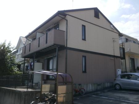 積水ハウスさんの軽量鉄骨2階建てアパート塗装メンテナンス 名古屋市緑区