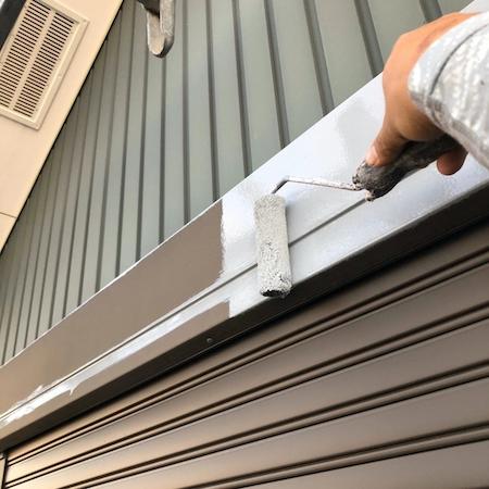 ガルバリウム外壁を現状のまま屋根・外壁塗装で新築のような仕上がり 名古屋市北区