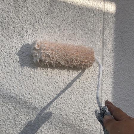 セミフロンスーパーシリーズで純白の美しさが長持ちする塗装 名古屋市守山区