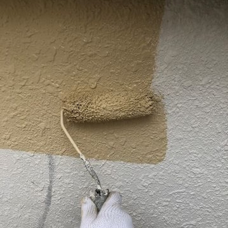 白くボロボロになった屋根を葺き替え、オリジナル色の外壁塗装で新品のような仕上がり 名古屋市南区