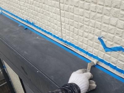 サイディング浮きや水切りへこみを補修してミサワホームさんの建物を塗り替え 東海市