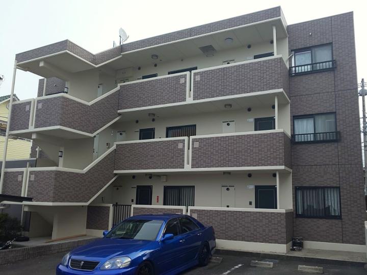 外壁のひび割れ・浮き補修、屋上防水シートで耐久性を高めたマンション修繕 名古屋市守山区