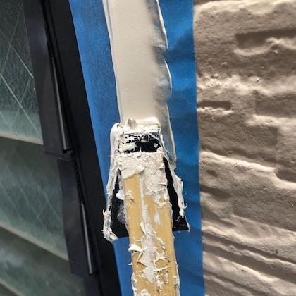 お洒落なサイディング外壁塗装は日本ペイントのUVプロテクトクリヤー 名古屋市天白区