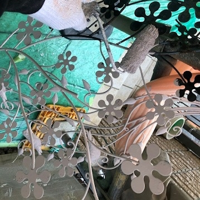 外観のデザイン性の美しさをそのまま残すクリヤー塗装 名古屋市緑区