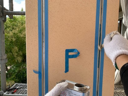 安城市にて、外壁・屋根の色をグレー色に塗り替えて高級感のある雰囲気に