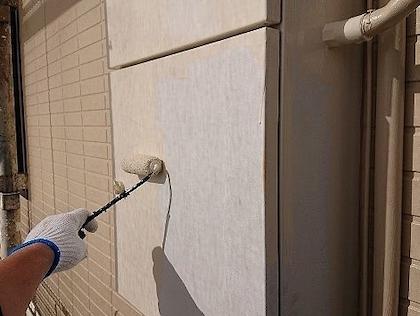人気色でコーポ塗り替え! 丁寧な下地処理でキレイな仕上がり 名古屋市守山区