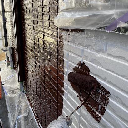 築10年経って初めての塗り替えは上下ツートンカラーでモダンな雰囲気に変身 瀬戸市
