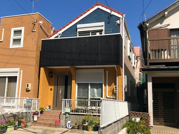 外壁材の種類(木壁、ジョリパット 、サイディング)によって適切な塗料選び 名古屋市天白区