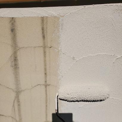 おしゃれな外壁の色分け!ベージュピンク系の濃淡で素敵な仕上がりに 名古屋市天白区