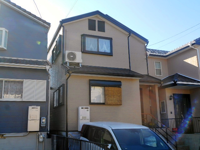 名古屋市緑区にてお客様よりご紹介をいただいて、無機UV塗料で屋根・外壁塗り替え