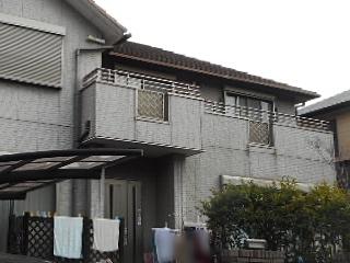 外壁についた雨だれや黒ずみ!汚れがつきにくい塗料で塗り替えてスッキリ 東海市