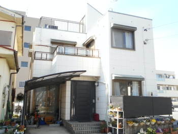 アスファルトシングルの屋根塗装、シーリング打ち替え、付帯・外壁塗装 名古屋市中川区