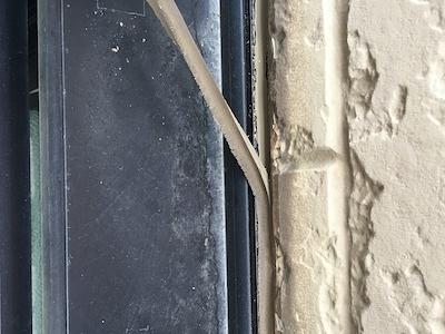 棟瓦のビス止め、3回塗り重ねお住まいの美しさが長持ちする外壁塗装 名古屋市名東区