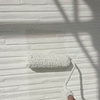 おしゃれなサイディング外壁のデザイン性を生かしたクリア塗装と色分け塗装 尾張旭市