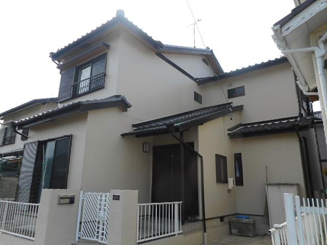 お家の不具合箇所を交換修理して日本ペイント人気塗料にて外壁塗装 尾張旭市